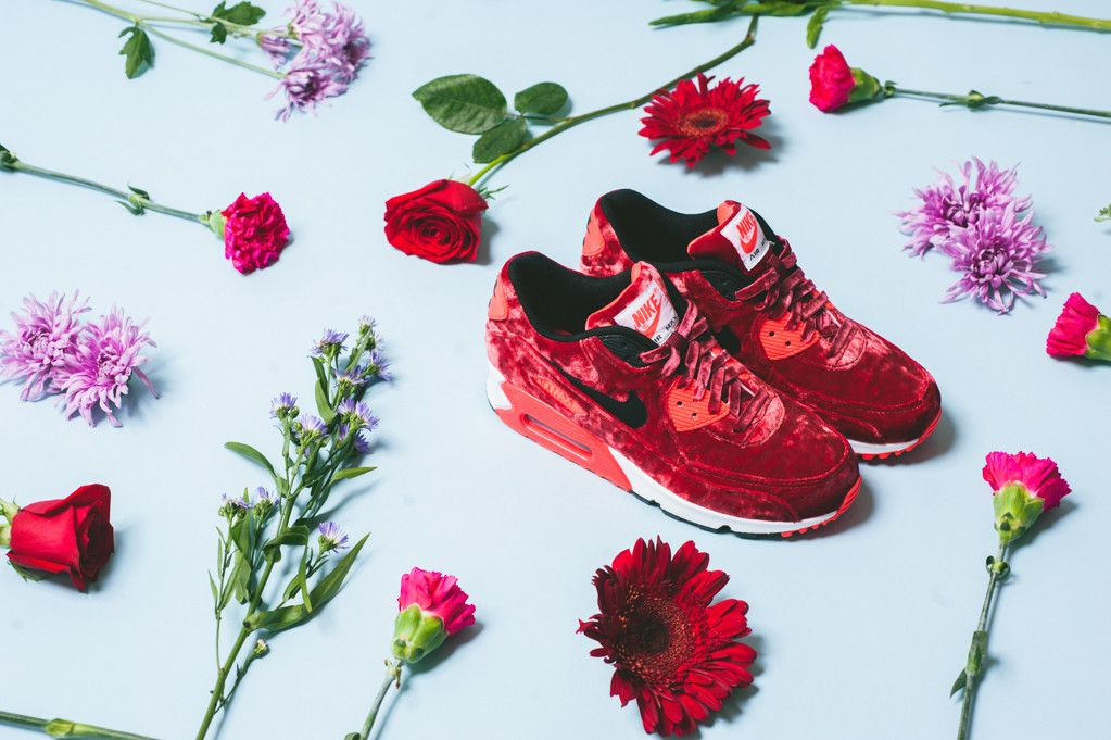 "Another Look at the Nike Air Max 90 ""Anniversary"" – Red Velvet"