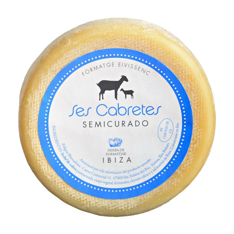 Queso De Cabra Artesanal Ibiza Artesanal Gout Cheese Ibiza