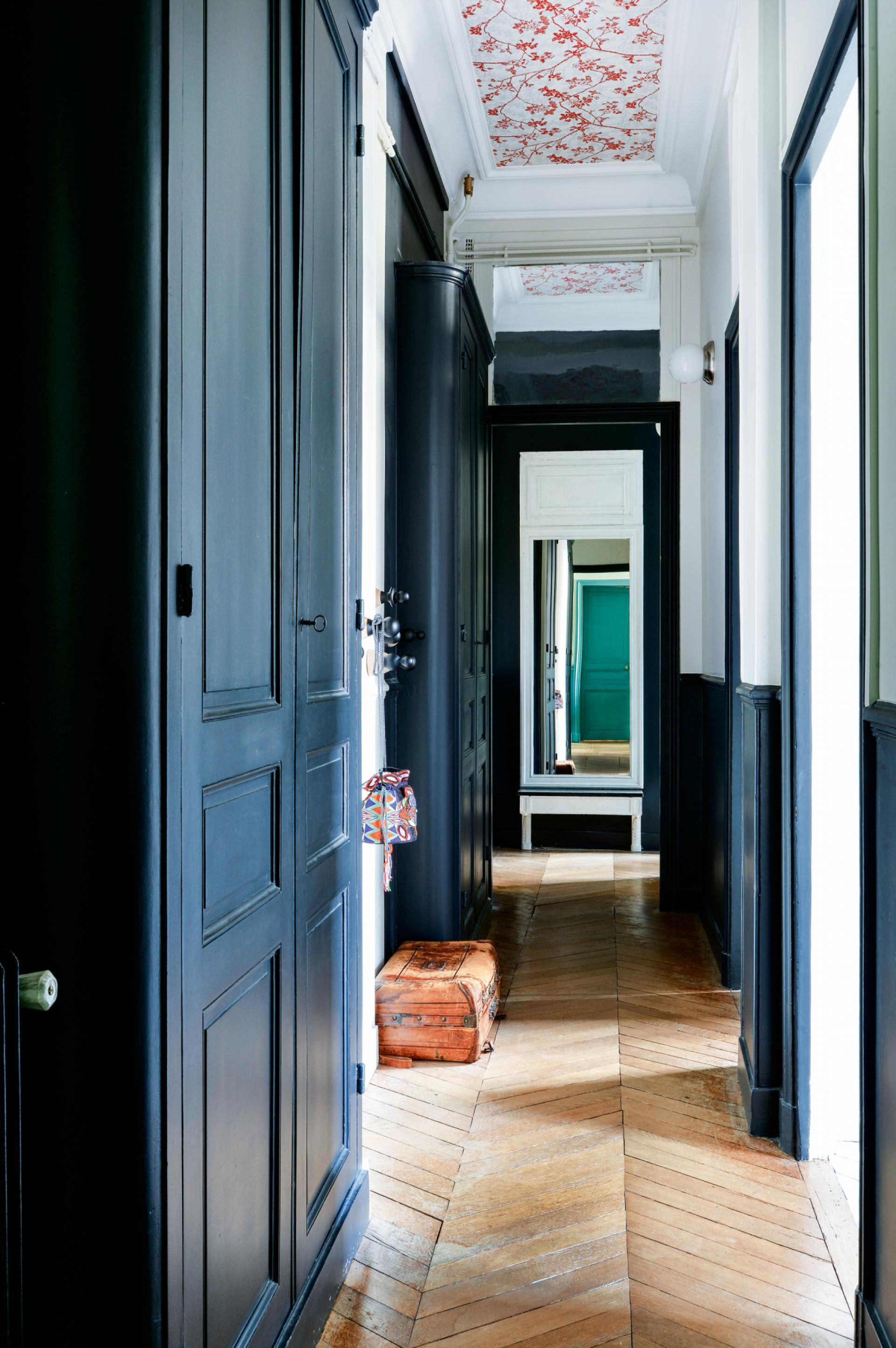 A classic parisian apartment is reinvented with colour photography by germain suignard styling by