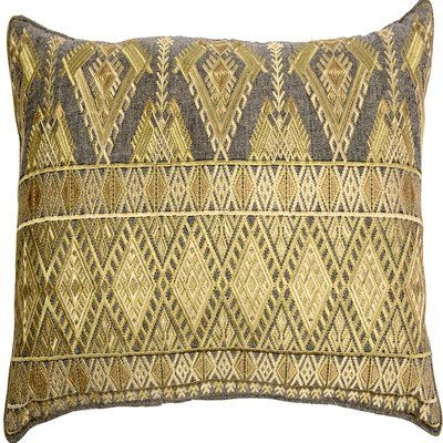 gold embroidered throw pillows