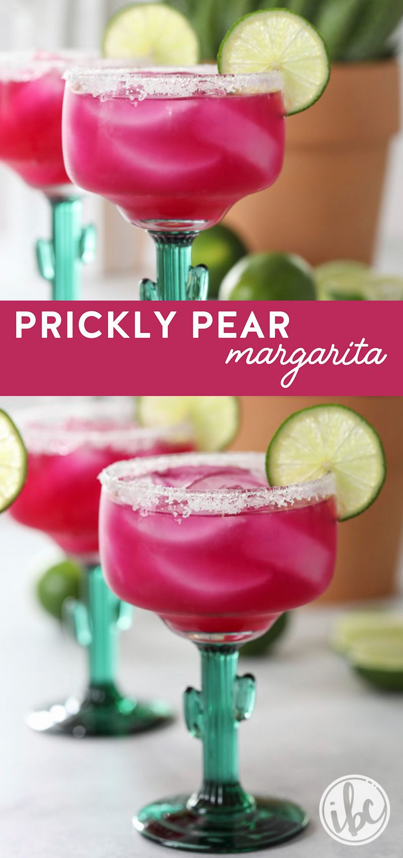 Bam This Prickly Pear Margarita Is A Delicious And Fun As It Looks Cocktail Margarita Recipe Prickly P Pear Drinks Prickly Pear Margarita Pear Cocktails