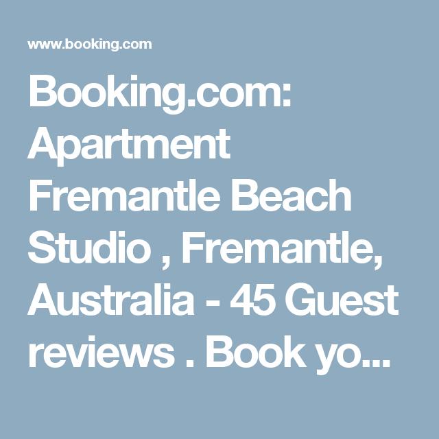 Booking.com: Apartment Fremantle Beach Studio , Fremantle, Australia  - 45 Guest reviews . Book your hotel now!