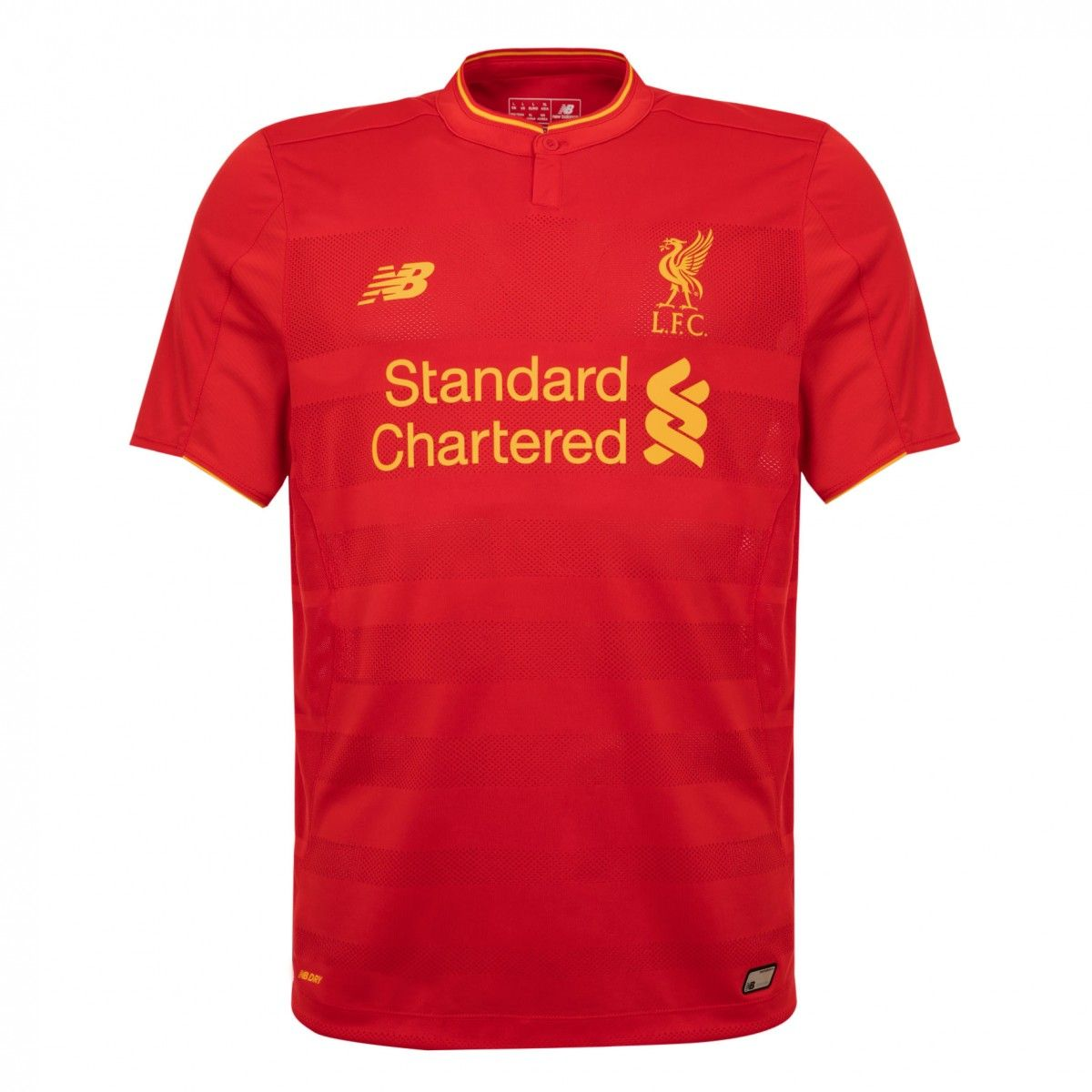 LFC Mens Short Sleeve Home Shirt Red. No name or number on back