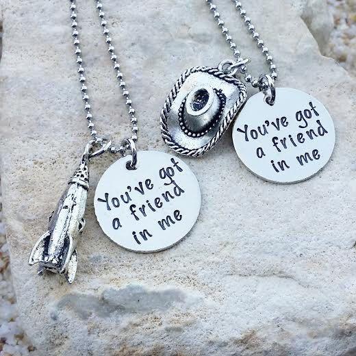 Photo of SALE – Jewelry – Necklace – Disney Necklace – Best Friend Necklace – Sister Necklace – Toy Story – Disney Jewelry – Disney Gift