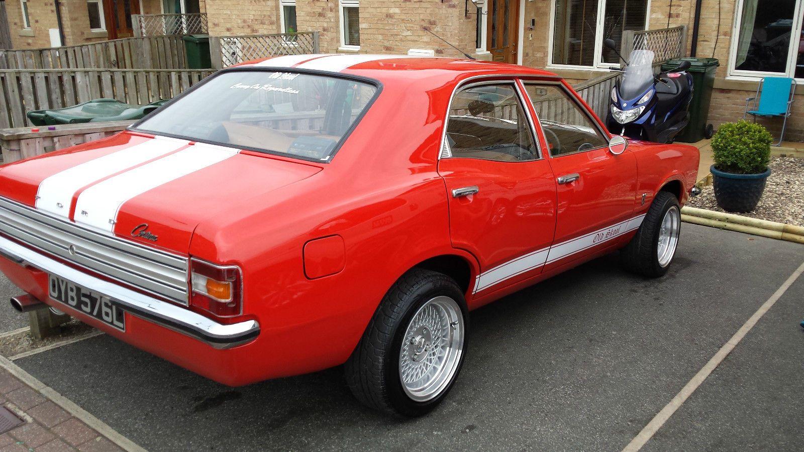 1973 Mk3 Ford Cortina 2000 Xl Classic Old Skool Tax Exempt Ebay Cortinas