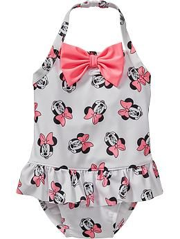 32fbd250217fd Old Navy Disney Minnie Mouse Swimsuits For Baby Fashion Niños, Kids  Fashion, Minnie Mouse