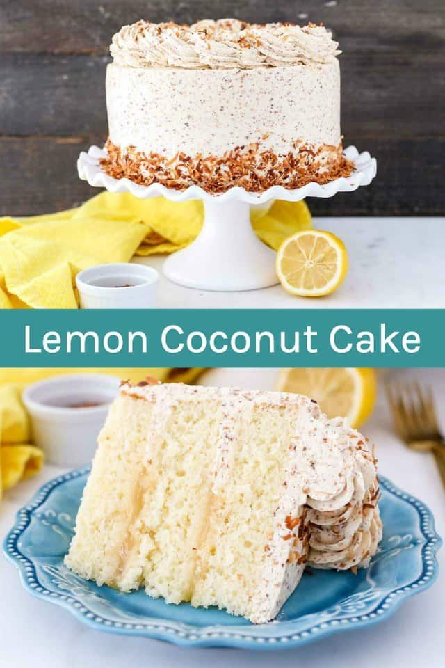 Tangy Lemon Coconut Cake Is An Easy Moist Buttermilk Lemon Cake Are With Layers Of A Lemon Curd This In 2020 Lemon And Coconut Cake Coconut Cake Recipe Savoury Cake