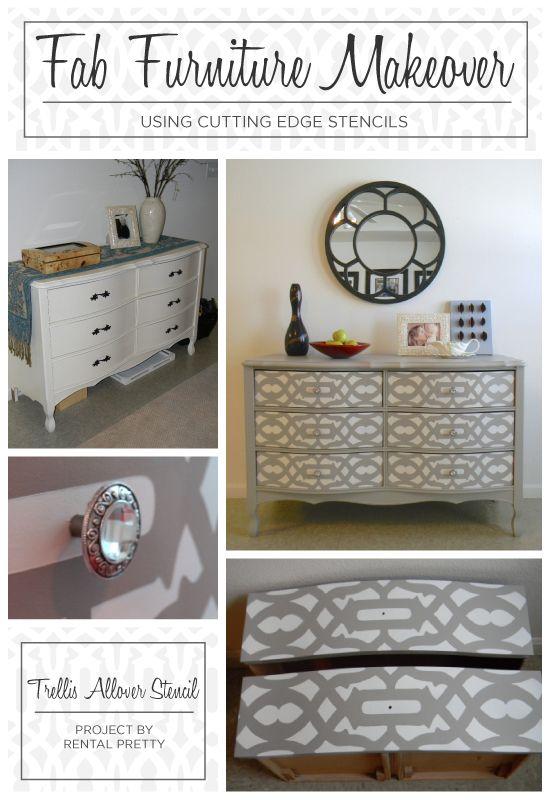 Goodbye 80s bedroom dresser , hello buffet for living room! Repurpose Redo Reuse