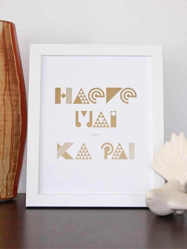 Haere Mai everything is Ka Pai - A4