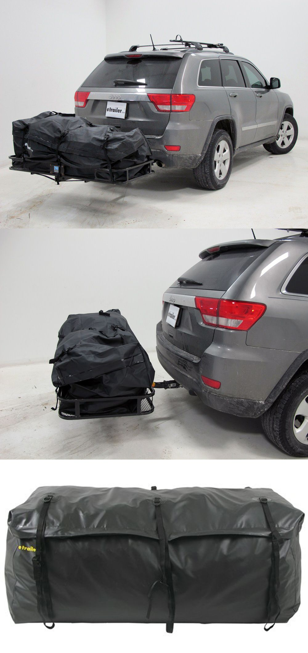 Cargo Bag W Mounting Straps Water Resistant 20 Cu Ft 59 X 24 X 24 Etrailer Hitch Hitch Mounted Cargo Carrier Cargo Carriers Hitch Cargo Carrier