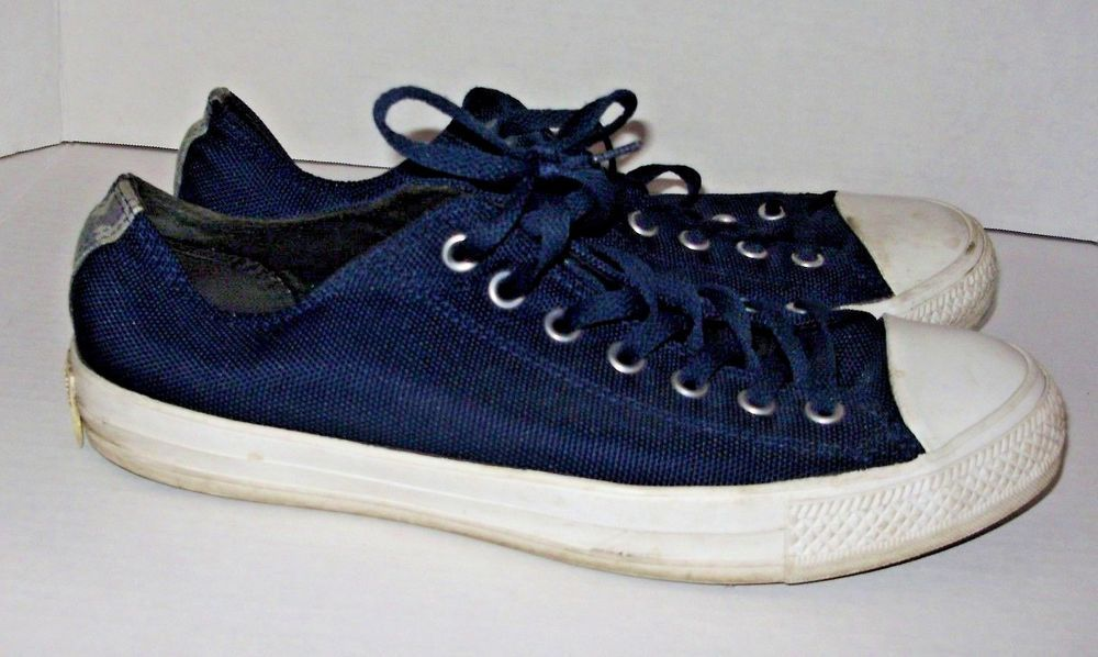 fffe764dfe8cbd Converse All Star Sneakers Womens Size 13 Mens Size 11 Navy Blue Low Top  A12  Converse  Athletic