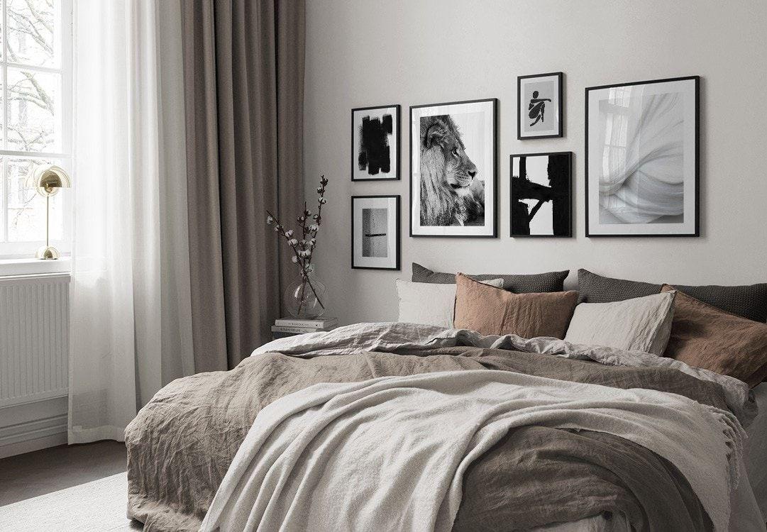 Billedvaeg I Sovevaerelse Indretning Og Plakater Til Sovevaerelset I 2020 Indretning Af Sovevaerelse Sovevaerelse Inspiration Hjem