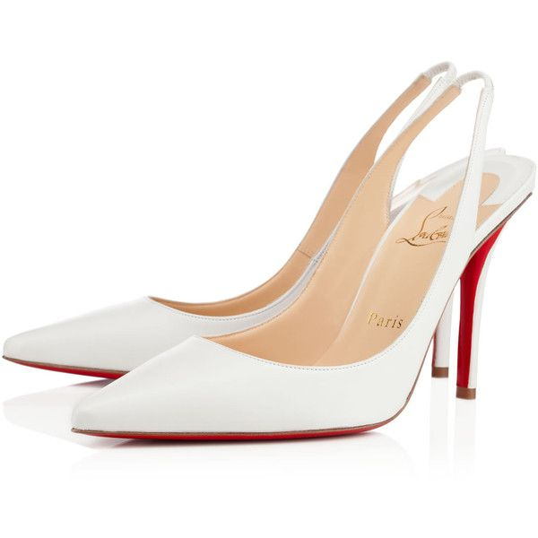 Christian Louboutin Apostrophy Sling (14 675 UAH) ❤ liked on Polyvore  featuring shoes cabf8a12d