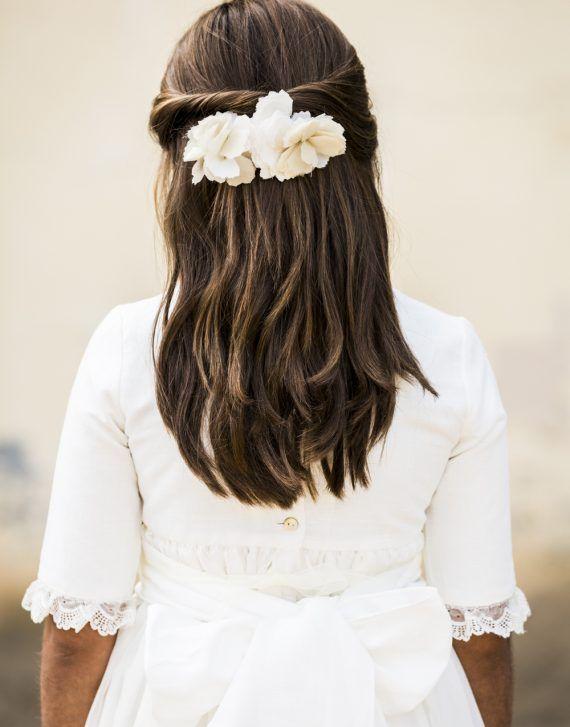 25 Peinados De Primera Comunion Para Pelo Largo Fernan Nuñez Peinados Primera Comunion Peinados Para Damas De Honor Peinados De Comunion Niña