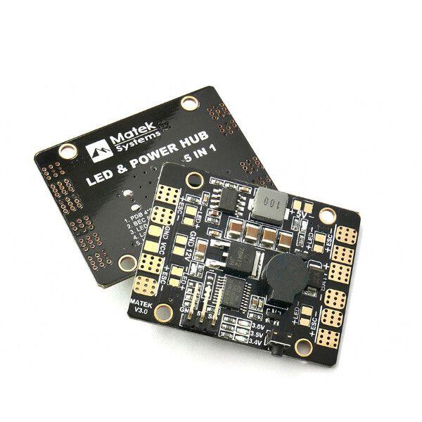 Matek LED & POWER HUB 5in1 V3 Power Supply Board + BEC 5V