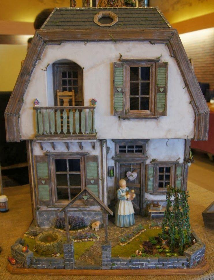 Nono mini nostalgia lounge miniature antwerp november - Maison rustique adorable tennessee nov ...