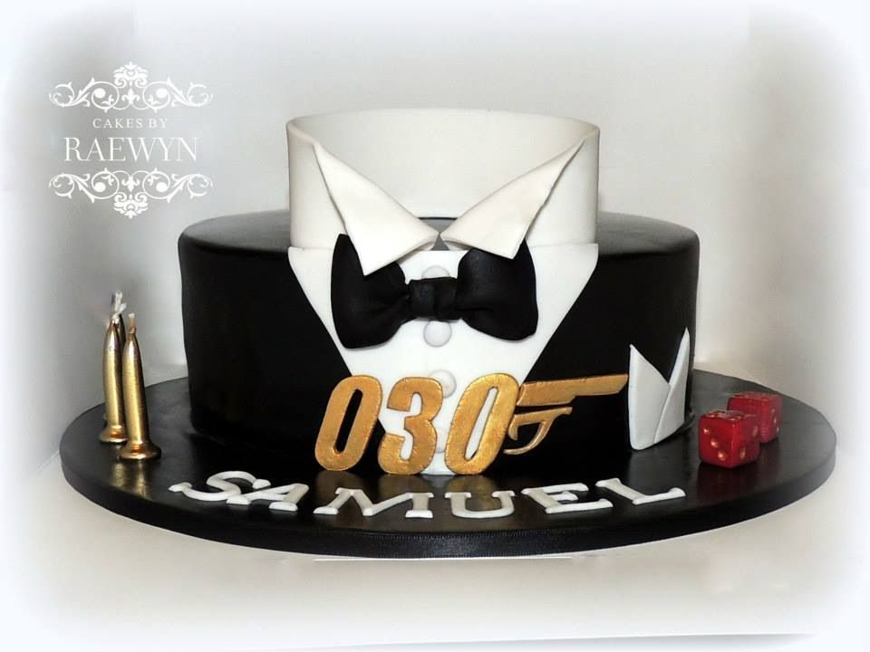 james bond theme photo only cakes pinterest m nner. Black Bedroom Furniture Sets. Home Design Ideas