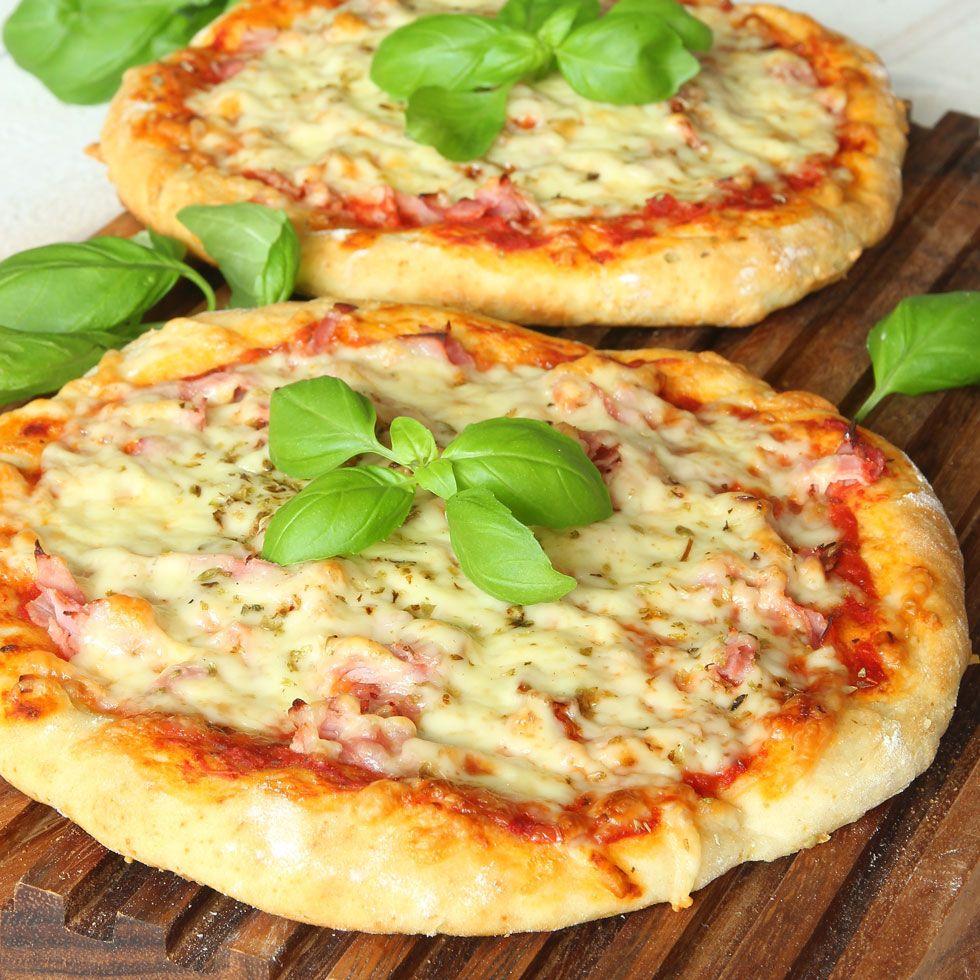 hemmagjord pizzadeg utan jäst