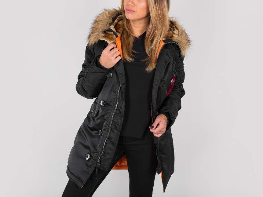 c382b510 Alpha Industries Women Cold Weather Jacket | N3B VF 59 WMN | Fashion ...