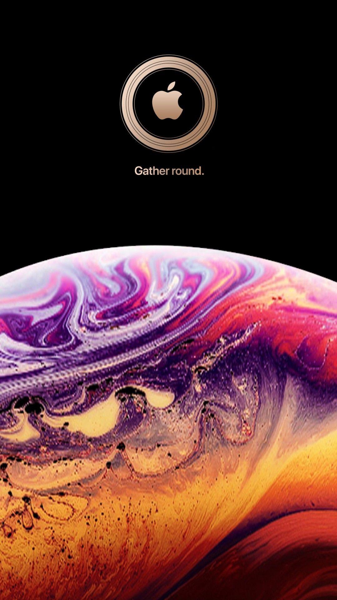 Apple wallpaper iphone, Apple logo ...