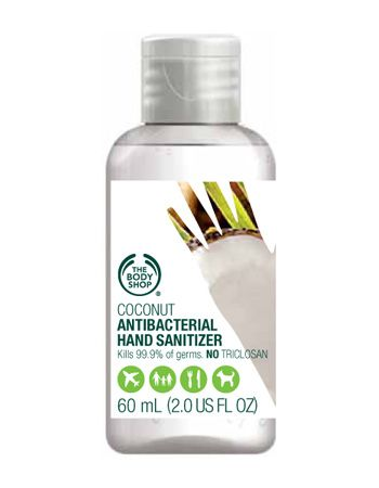 The Body Shop Coconut Antibacterial Hand Sanitizer In 2020 The