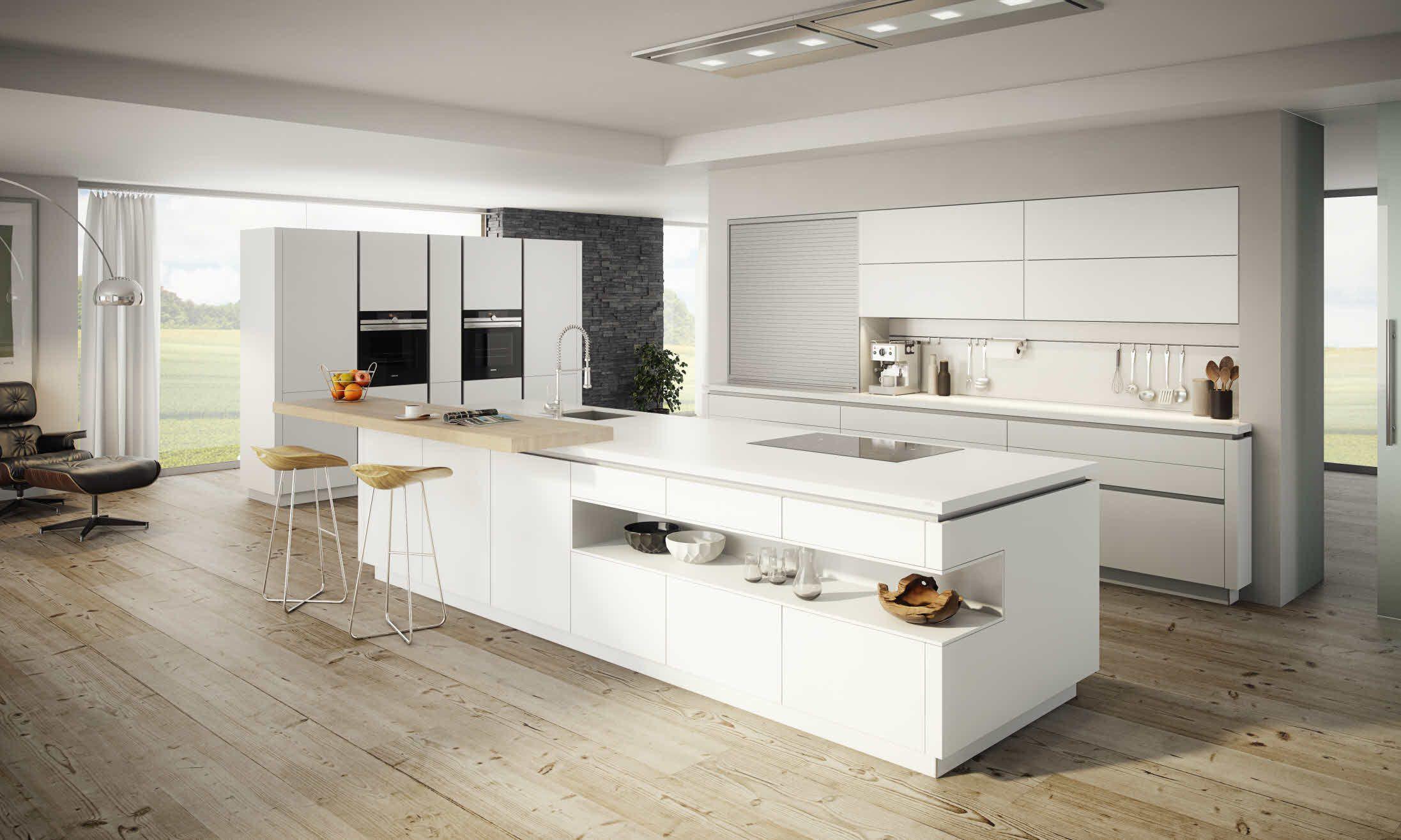 Vida arktis | Küche freistehend, Moderne küche und Küche mit ...