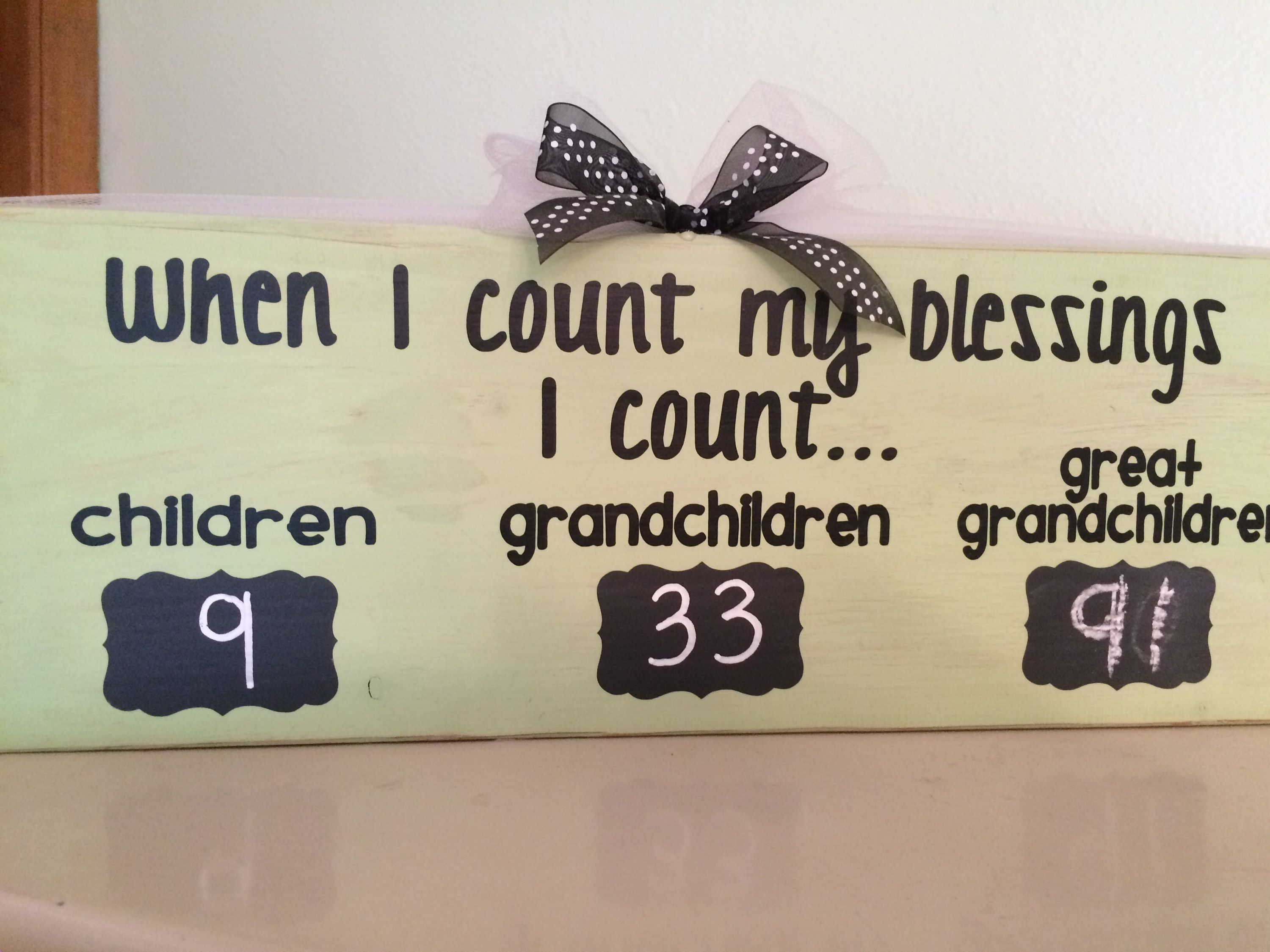 perfect for memaw 90th