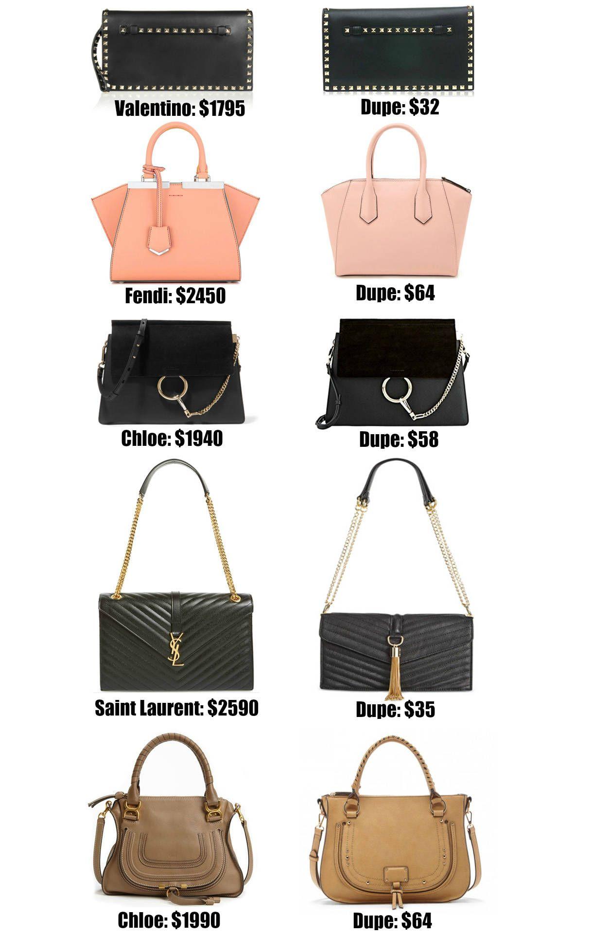 87e8c6f3ad Fashion blogger Mash Elle shares the ULTIMATE designer bag dupe guide! Over  20+ of the best designer dupes most under  50!
