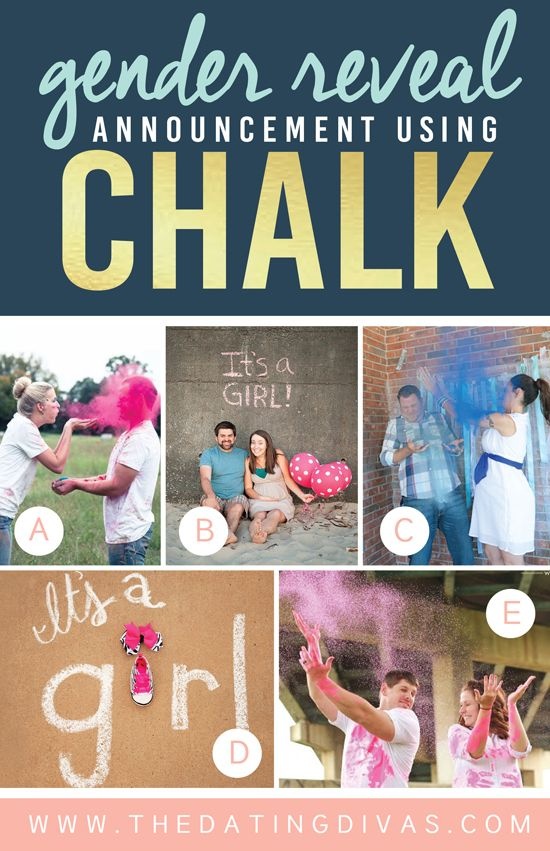 100 Gender Reveal Ideas – Ideas for Announcing Baby Gender