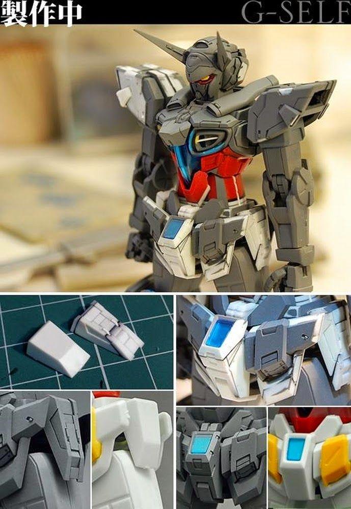 "Custom Build: HGRC 1/144 Gundam G-Self ""detailed"" GBWC 2014 Japan Entry - Gundam…"