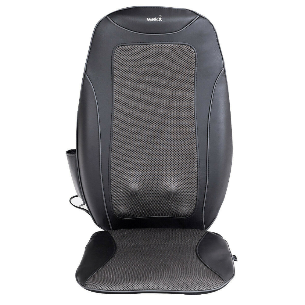 Details About Portable 3d Shiatsu Heated Vibration Massage Chair Seat Cushion In Gift Box Massage Chair Seat Cushions Cushions