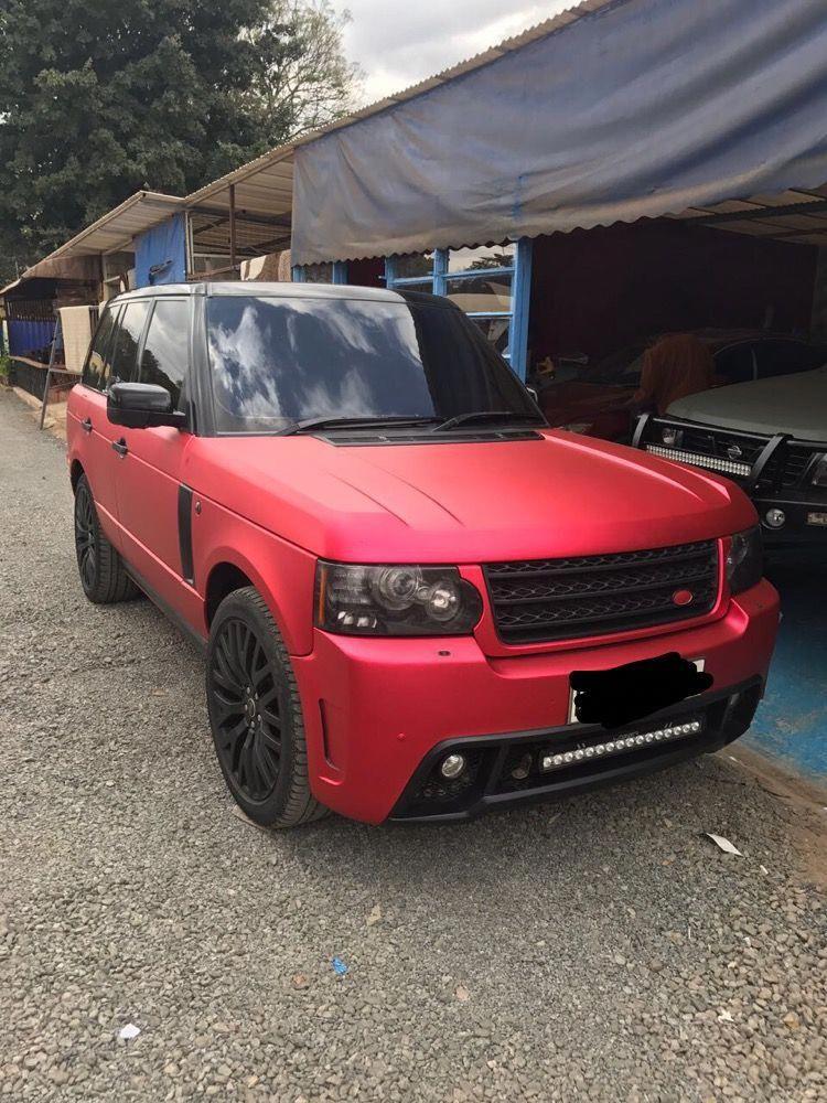 Matt Red Range Rover Red range rover, Range rover