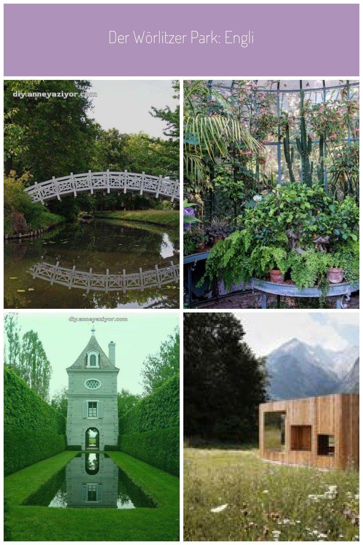 Der Worlitzer Park Englischer Garten Gondelfahrt Amphitheater Und Sogar Ein Amphitheater Der Ein Englischer Gar English Garden Garden Arch Garden