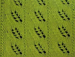 Lace Knitting Stitch #7