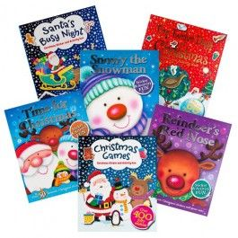 Christmas Sticker and Activity Book assortment. Get ready for the festive season with this fun activity book, packed full of puzzles, make-and-do activities and games. With over 50 stickers and press-outs to play with, this year's Christmas will be the best ever! Available in six designs. Items sold separately. We cannot garuantee which design you receive. Get creative with our fantastic range of Christmas craft and activities.