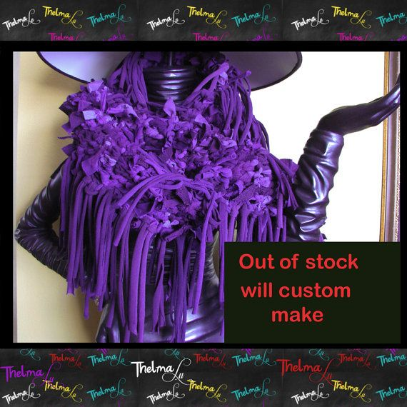 Funky Fun One of a Kind custom made Fringe Scarf by iLoveThelmaLu, $125.00