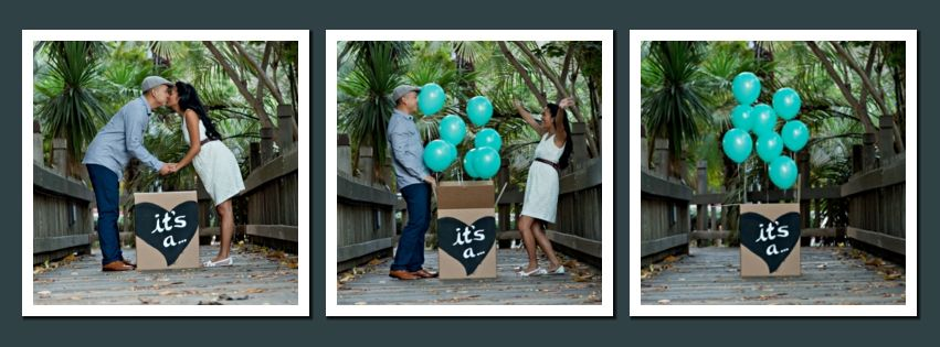 17 Best images about Gender Announcement Photography – Baby Gender Announcements