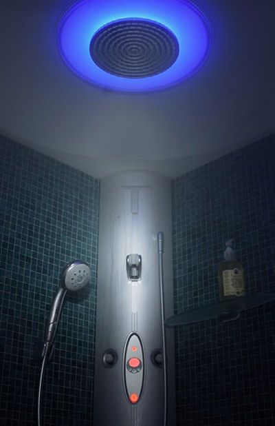 Hansgrohe Steam Shower   The Luxury WellSpring Shower