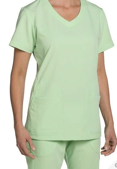4664cfbe93e Nurse Mates Maci V-Neck Top & Sara Yoga Knit Waist Pant Medical Scrub Set  Large #NurseMates