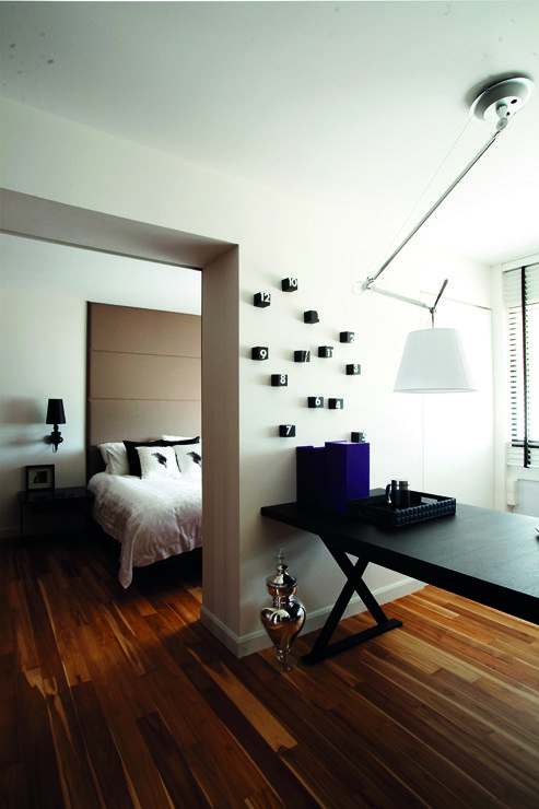 "3 Room Hdb Interior Design Ideas: HDB In Singapore ""By Combining Two Bedrooms, A Study Area"