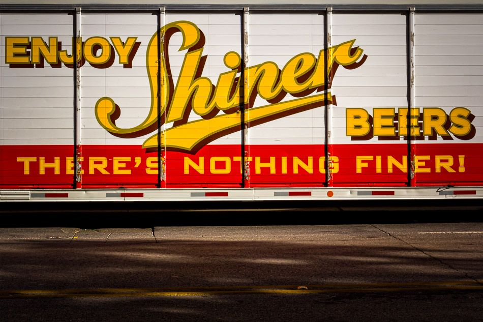 There's Nothing Finer! Beer truck, Downtown dallas