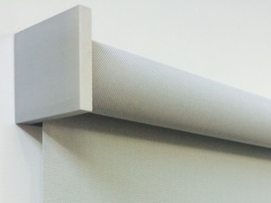 Enhance the look of your blinds with our QMotion Smart Covers. These covers are powder coated flat aluminium and come with a brushed finished look. These covers are magnetic and can easily be clipped on to the end bracket of your roller blind to create that elegant look. Available in silver in a square or a curve design.