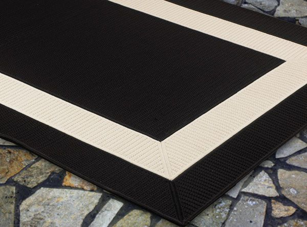 Xobkcorner For The Home Pinterest - White bath rug with black border for bathroom decorating ideas