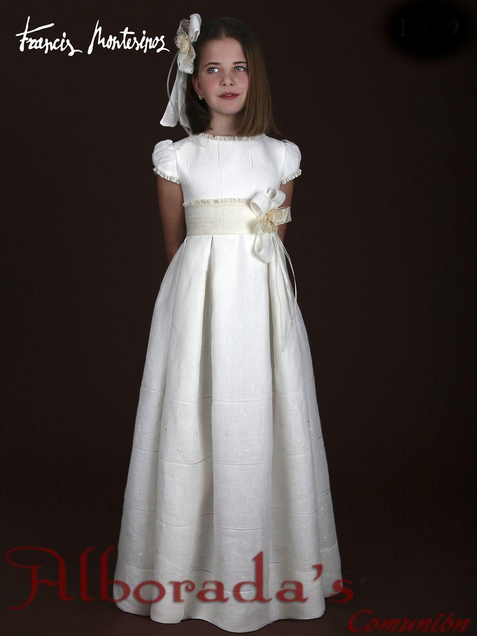 Vestido comunion francis montesinos