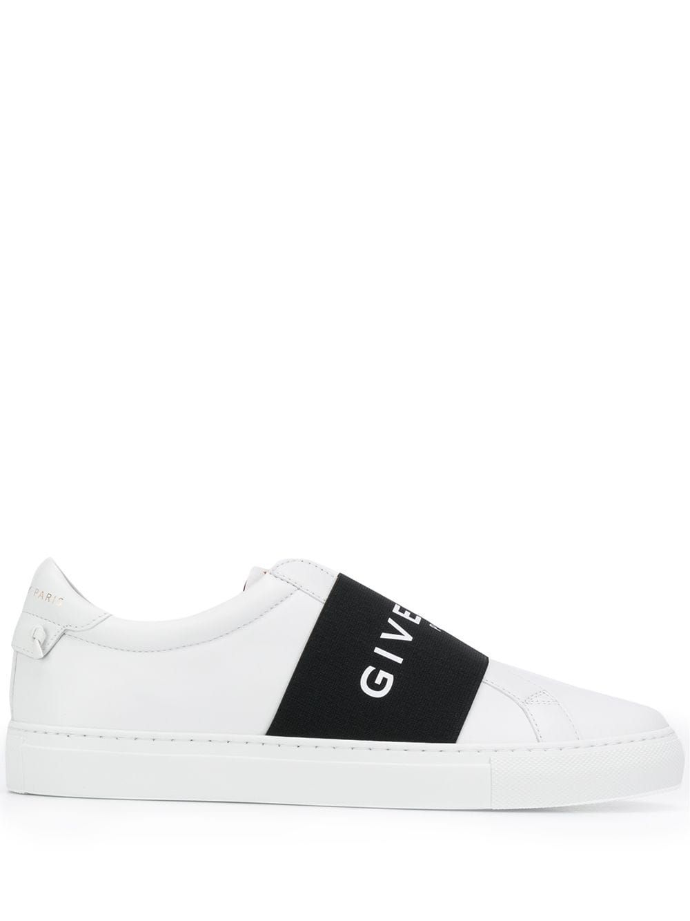 Strap logo sneakers | Sneakers, Calf leather, Givenchy
