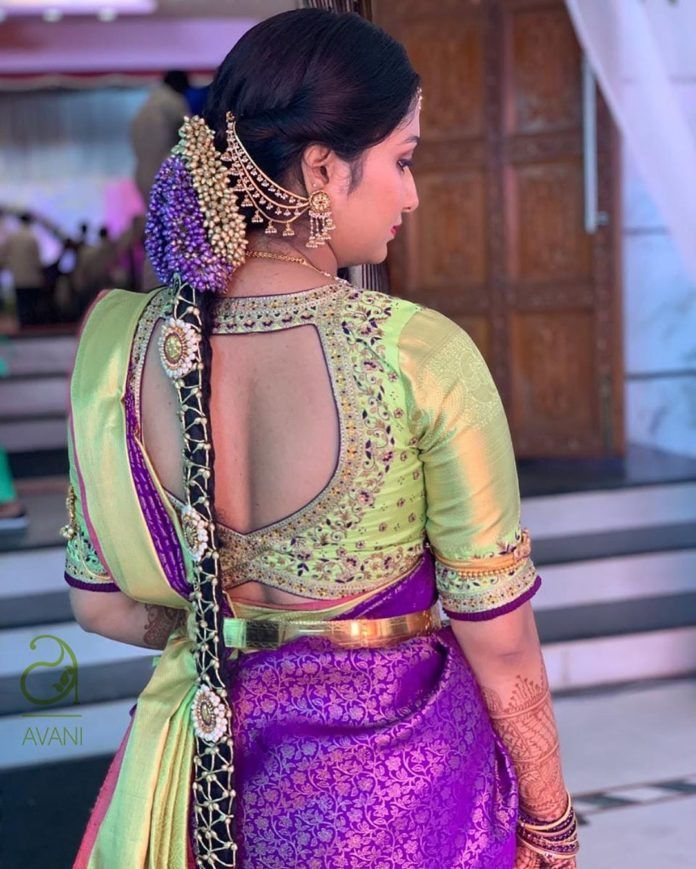 Check This Brand For Latest Bridal Blouse Designs for Pattu Or Silk Sarees • Keep Me Stylish
