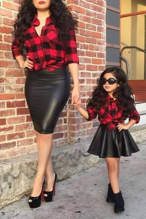 9d6528073a Mother & Daughters matching outfits!! So very cute!!  #mother_daughter_outfits