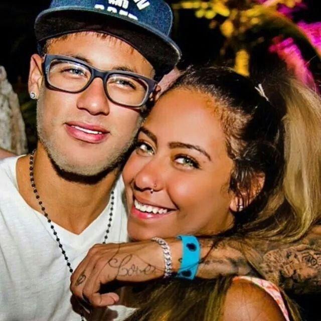 Neymar & his sister