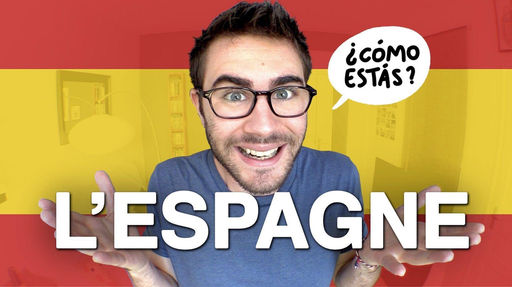 Youtuber hablando sobre España