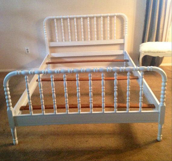 Antique Full Size Jenny Lind Bed By Antique2chic On Etsy